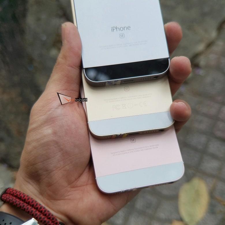 mặt sau của iPhone SE 32GB cũ