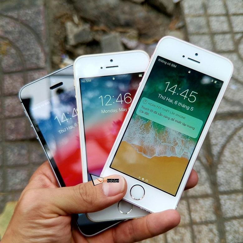 Mặt trước của iPhone SE 32GB quốc tế cũ