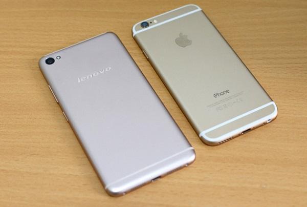 Lenovo S60 có thiết kế đẹp giống iPhone 6