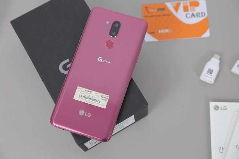 đánh giá cấu hình LG G7 ThinQ
