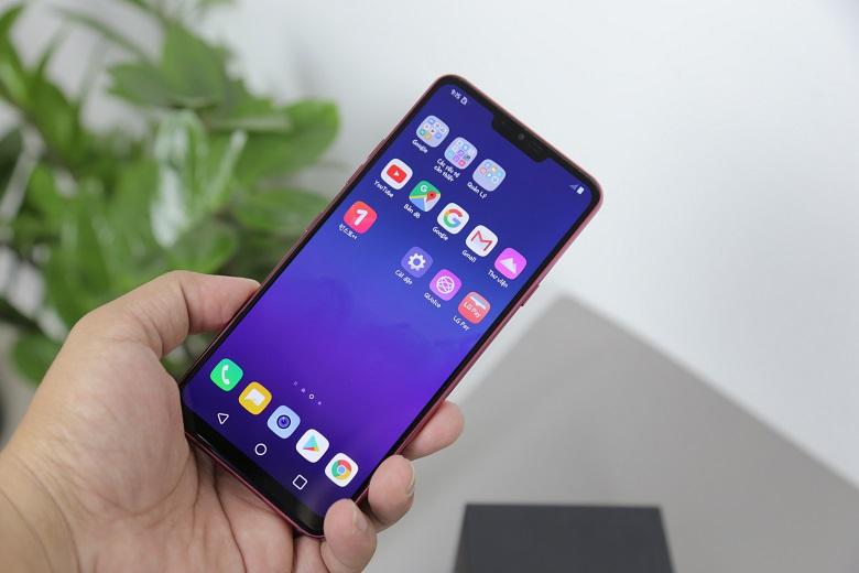 đánh giá màn hình LG G7 ThinQ