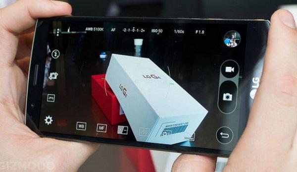 Với khẩu độ F/1.9, camera trên LG G4 cũ cho chế độ chụp chuyên nghiệp, định dạng RAW