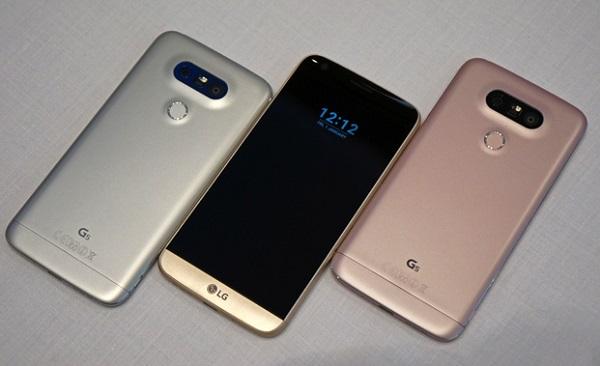 LG G5 cũ có thiết kế sang trọng hơn các thế hệ tiềm nhiệm của mình