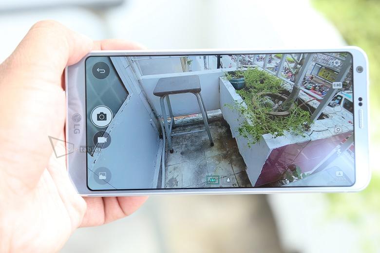 Camera LG G6 cũ có thể zoom lấy nét