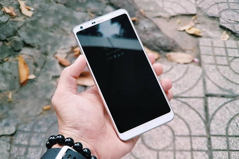 LG G6 cũ sở hữu hiệu năng ổn định với chip Snapdragon 821