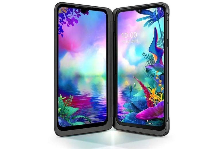 màn hình LG V50s ThinQ cũ