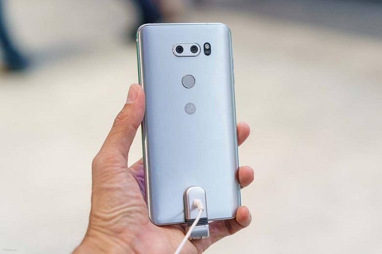 đánh giá camera LG V30