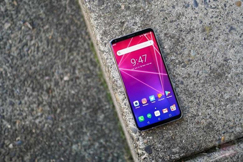đánh giá màn hình LG V30
