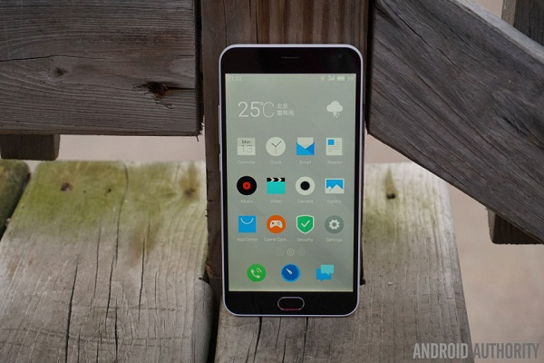 Màn hình Meizu M2 Note cho hiển thị sắc nét