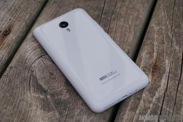 Thiết kế Meizu Note 2 khá bóng bẩy