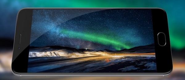 Màn hình trên Meizu M3 Note có mặt kính cong 2.5D