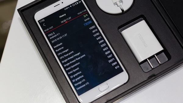Meizu Pro 5 có hiệu năng khủng
