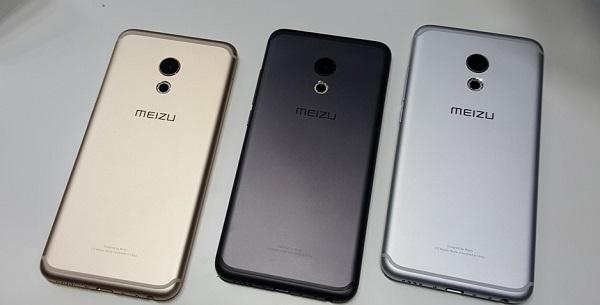 Meizu Pro 6 được bán ra với 3 màu vàng, bạc và đồng