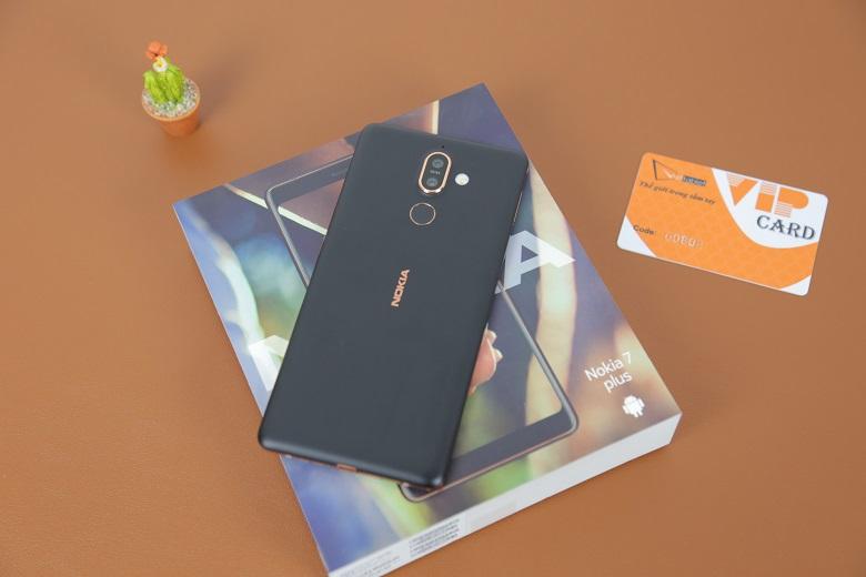 đánh giá cấu hình Nokia 7 Plus