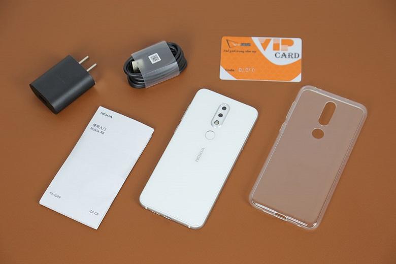 Nokia X6 màu trắng