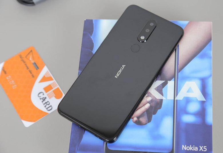 Nokia X5 2018 32gb 64gb thiết kế 4