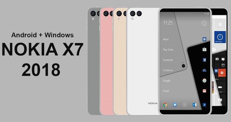 Nokia X7 2018 cấu hình thiết kế giá bán dự kiến