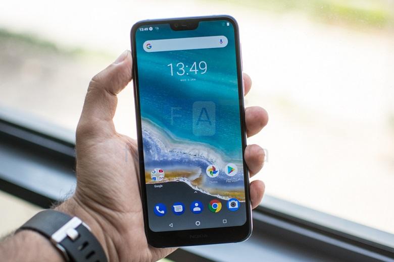 Nokia X7 2018 xách tay có thiết kế mặt lưng kính
