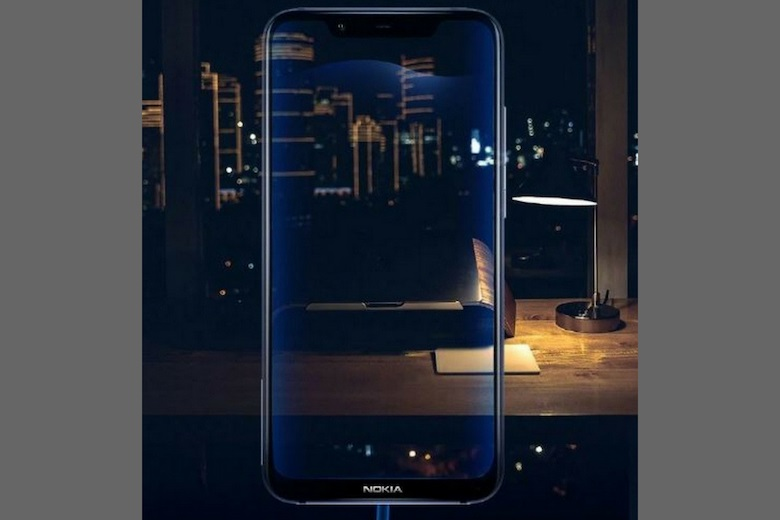 Thiết kế của Nokia X7 2018