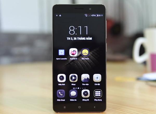 Điện thoại Nomi 3S cấu hình cao