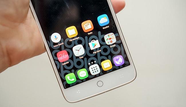 Obi Worldphone S507 thiết kế mặt trước
