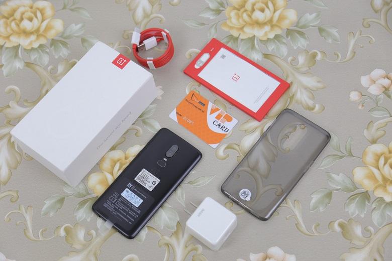 OnePlus 6 RAM 6GB, chip Snapdragon 845