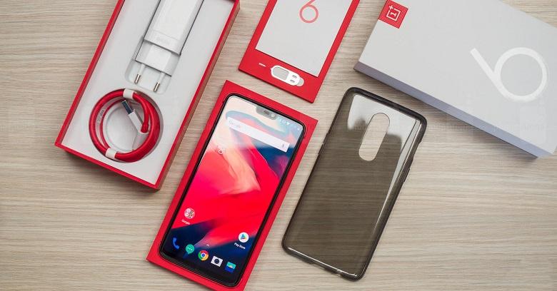 giới thiệu OnePlus 6
