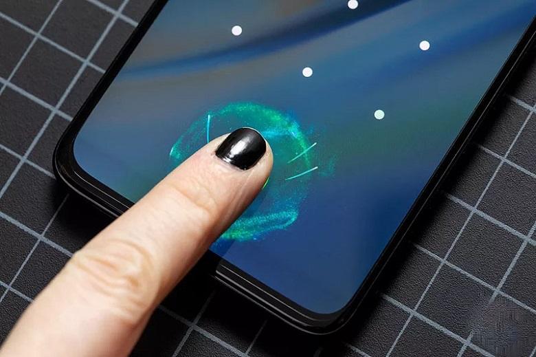OnePlus 6T mở khoá bằng vân tay trong màn hình