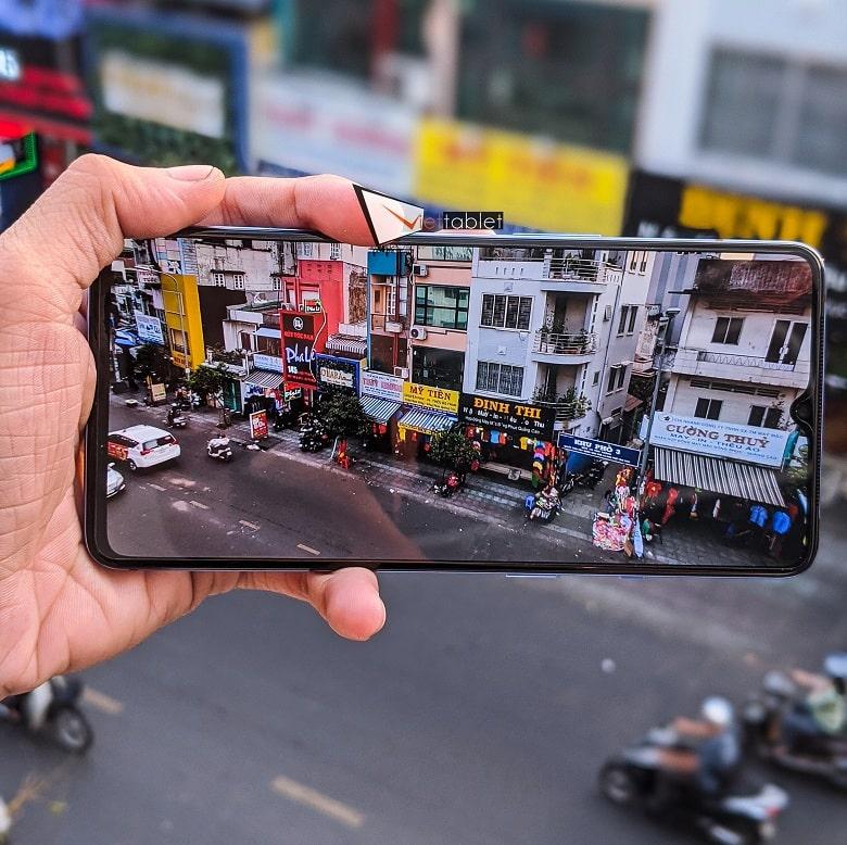 chụp ảnh trên OnePlus 7T 256GB