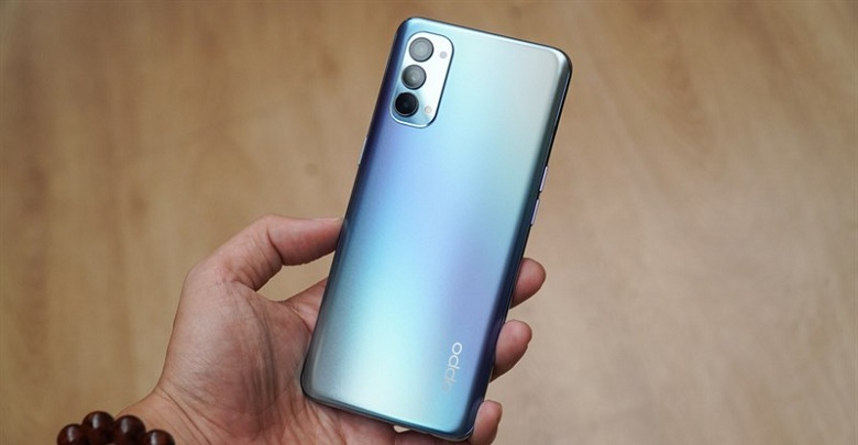 thiết kế OPPO Reno4