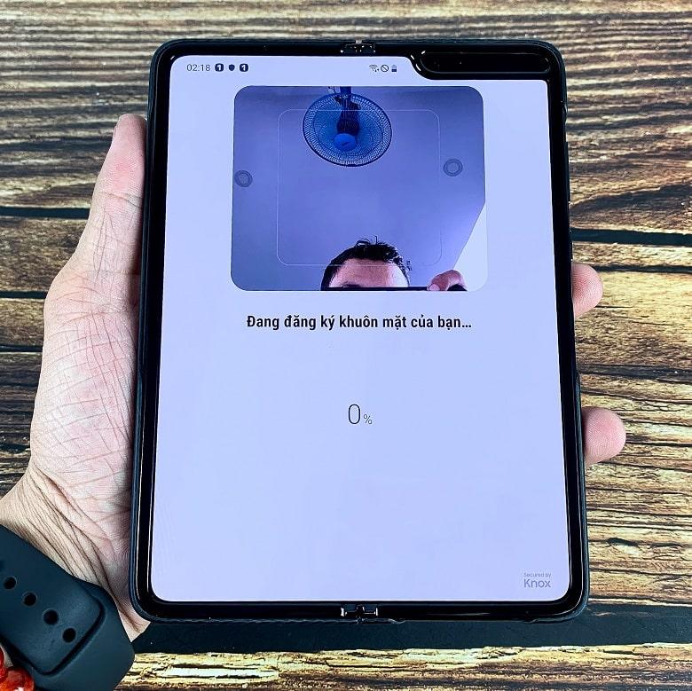 Khả năng bảo mật của Samsung Galaxy Fold 5G