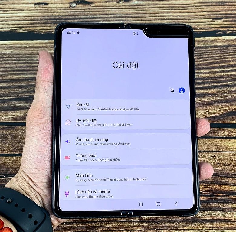 cấu hình Samsung Galaxy Fold