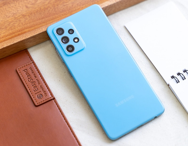 Samsung Galaxy A52 5G 128 256gb thiết kế lưng