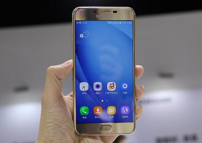 Samsung Galaxy C7 32GB ra mắt