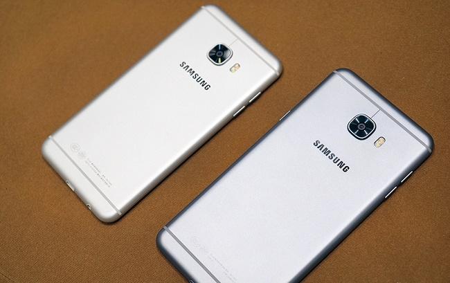 Samsung Galaxy C7 32GB thiết kế lưng