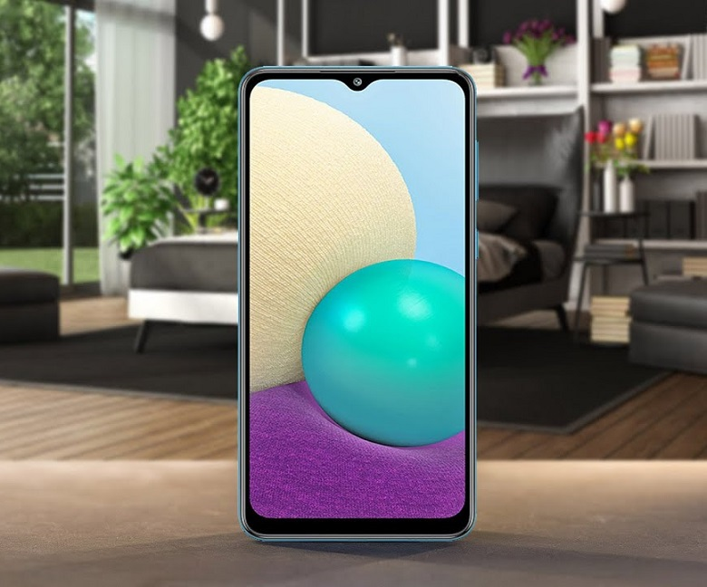 Samsung Galaxy M02 thiết kế cấu hình giá bán