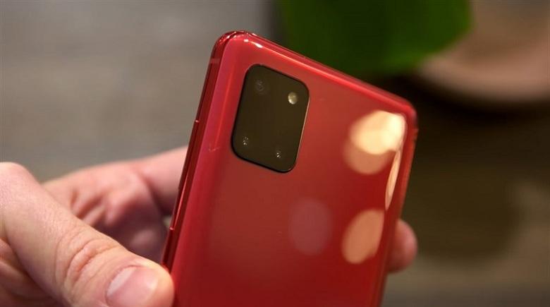 camera Samsung Galaxy Note 10 Lite