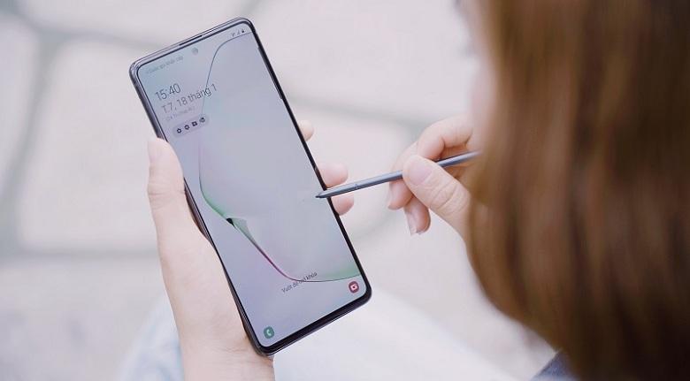 cấu hình Galaxy Note 10 Lite