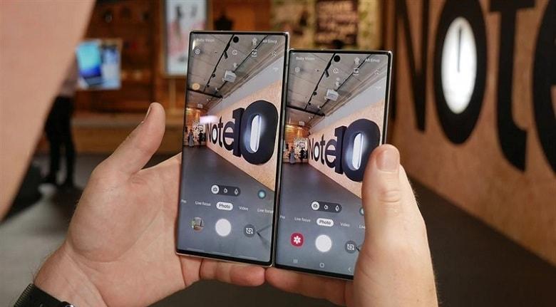 camera của Samsung Galaxy Note 10 Plus 5G Mỹ 256GB