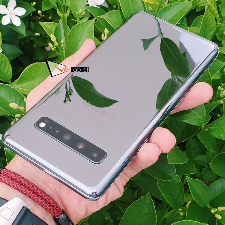 ngoại hình Samsung Galaxy S10 5G Cũ