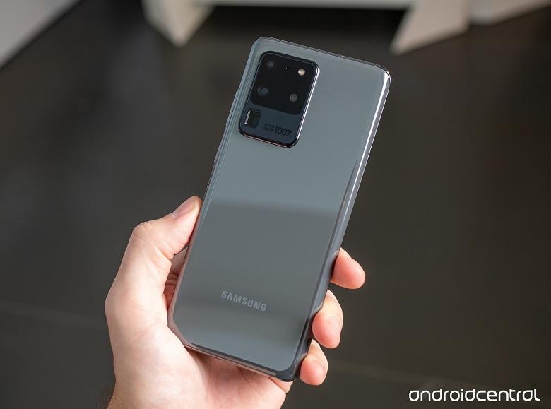 thiết kế Samsung Galaxy S20 Ultra 5G