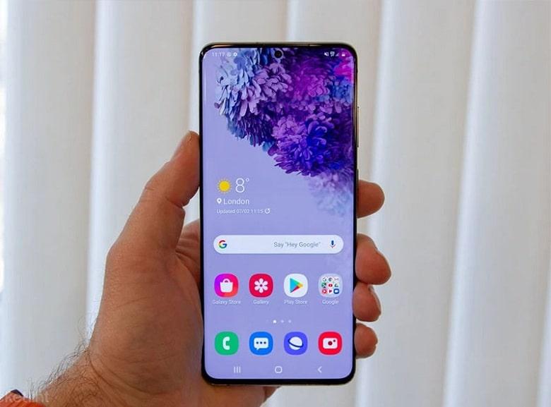 hiệu năng của Samsung S20 5G
