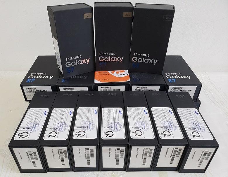 Samsung Galaxy S7 chính hãng 2 Sim có hàng tại Viettablet