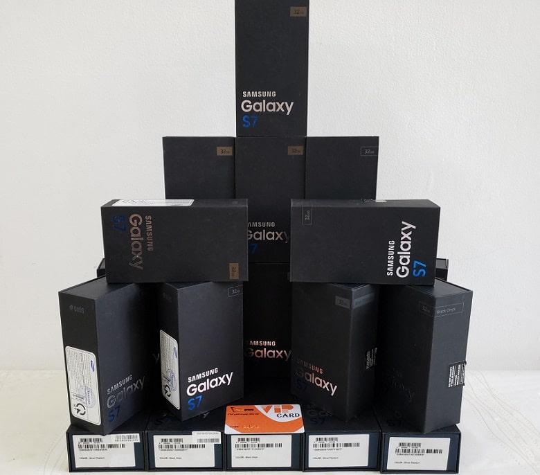 Samsung Galaxy S7 chính hãng 2 Sim mới FullBox