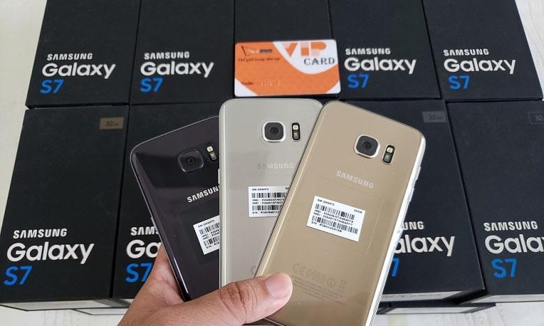 Samsung Galaxy S7 chính hãng 2 Sim thiết kế đẹp