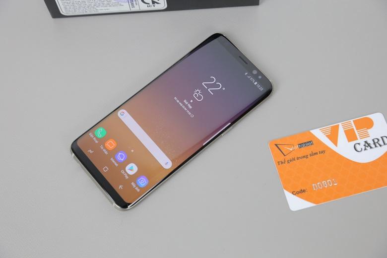 Samsung Galaxy S8 có thiết kế đẹp, hiệu năng ổn định