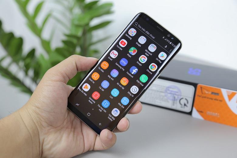 Samsung Galaxy S8 cũ có thiết kế nhỏ gọn