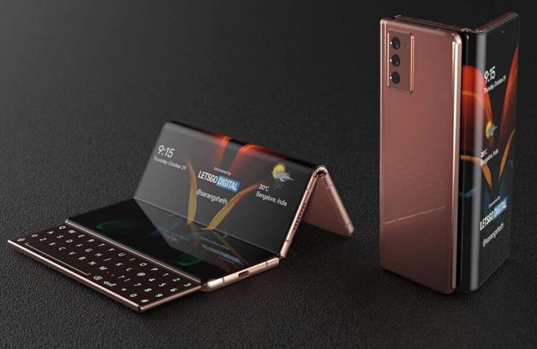 Samsung Galaxy Z Fold 3 5G thiết kế màn hình gập