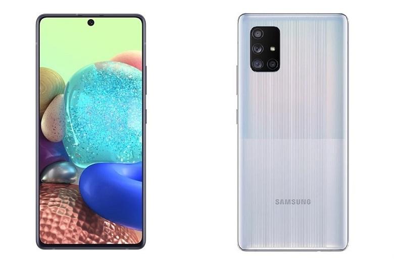 thiết kế Samsung Galaxy A71 5G