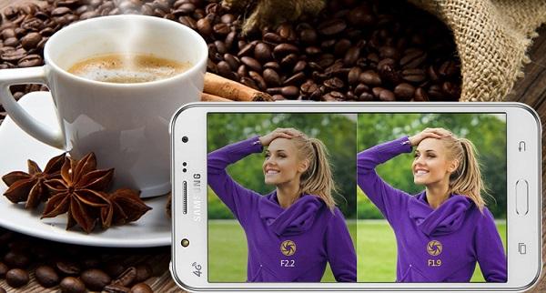 Samsung Galaxy J5 có camera chính 13 MP chất lượng